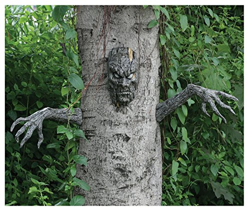 Spooky Living Tree Decoration (Scary Outdoor Halloween Decorations)