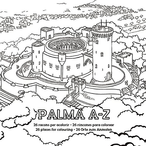 Palma A-Z: Ausmalbuch