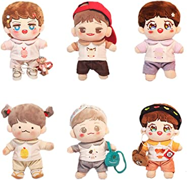 Hand-made Kpop EXO Wanna one Se Hun Doll Clothes Shirt Coat Stuffed Gift Pre N