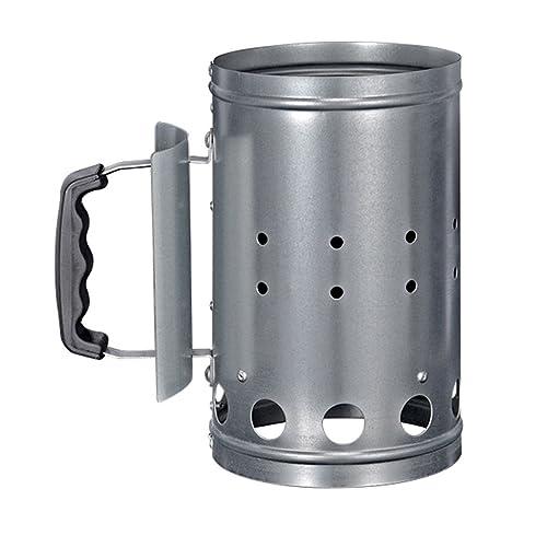Chimney Charcoal Starter Lighting Kit Coal Burner