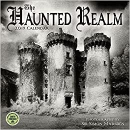 the haunted realm 2019 wall calendar