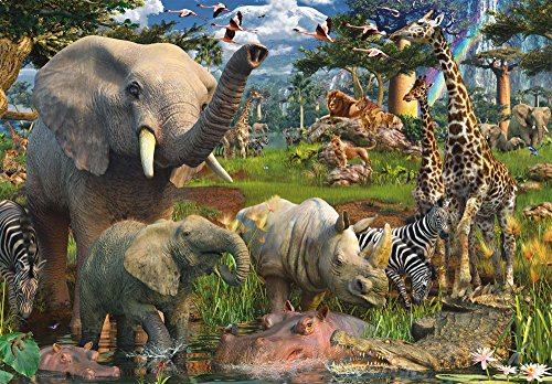 Ravensburger At The Waterhole - 18000 Pieces Puzzle