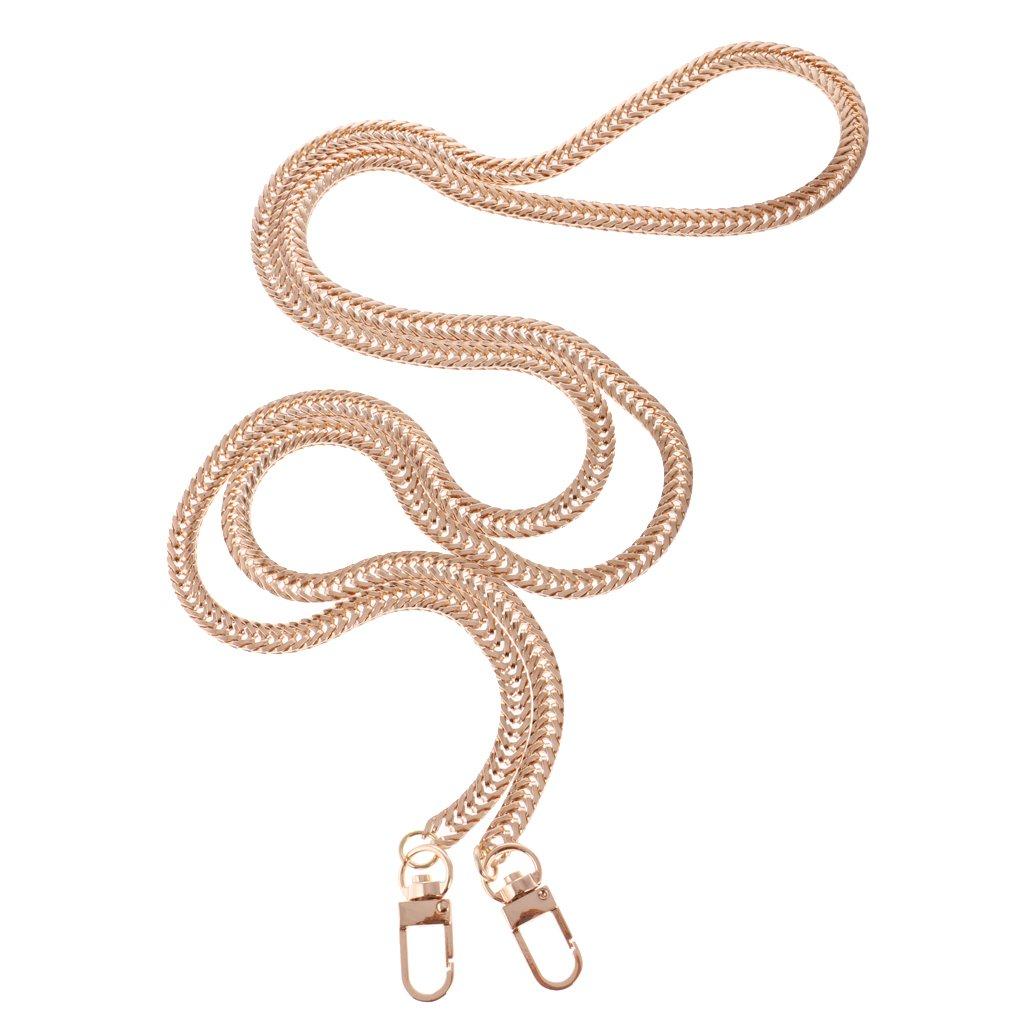 Gazechimp Partes de Bolsa Cadena Cuerda Twist para Hombros Comoda Suave Colgante Reemplazo Atractiva Elegante de Oro