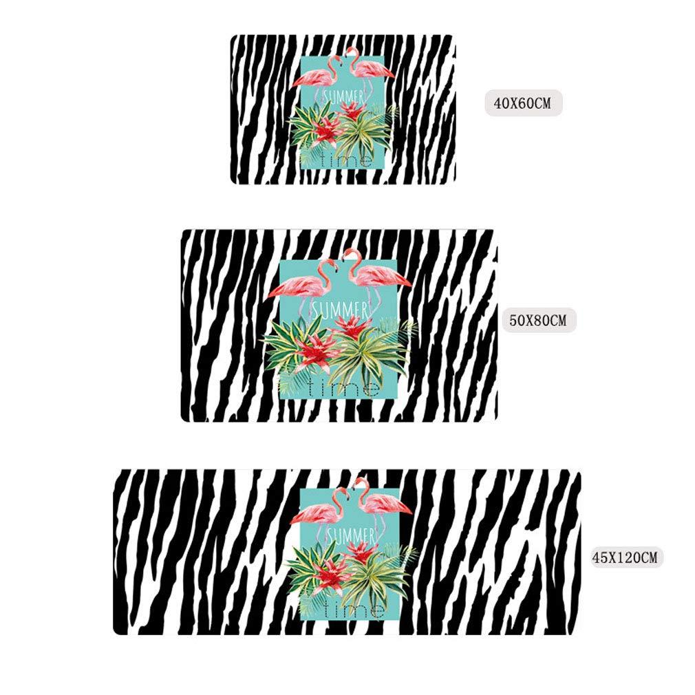 Flamingo 40 60cm Nunbee Paillasson Designer Le pr/éf/ér/é de Maman Tapis de Sol antid/érapant ext/érieur dentr/ée Interieur Fibre de Coco Geek No/ël Chat Chouette cerf Multicolore