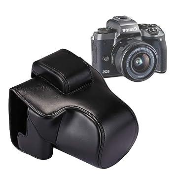 ZHAODONG Bolsa con Cuerpo Completo, cámara, Caja de Cuero, Bolsa ...