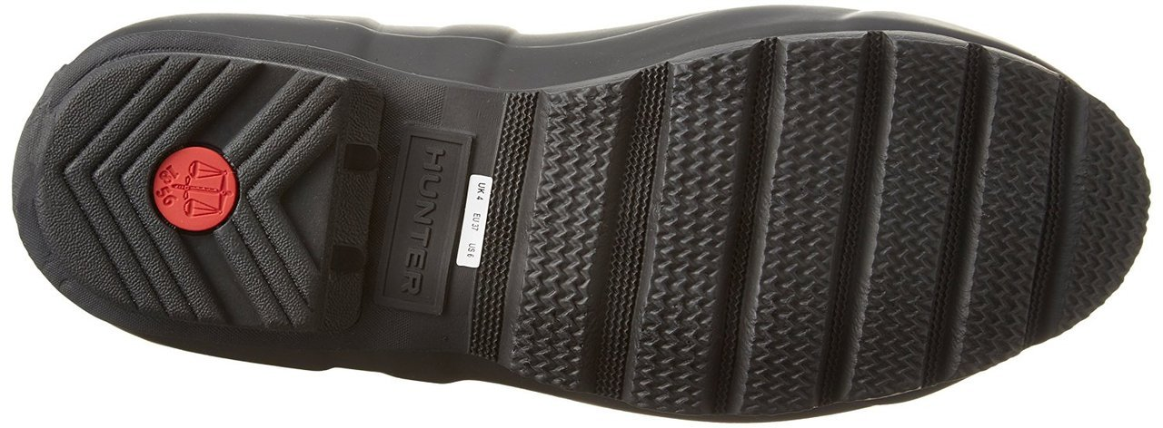 Hunter Women s Original Adjustable Back Short Rain Boot Black 10