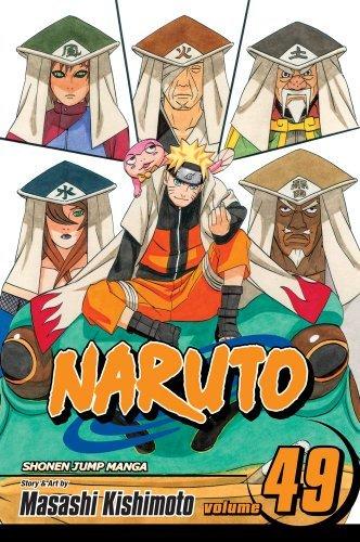Amazon.com: Naruto, Vol. 49: The Gokage Summit Commences ...