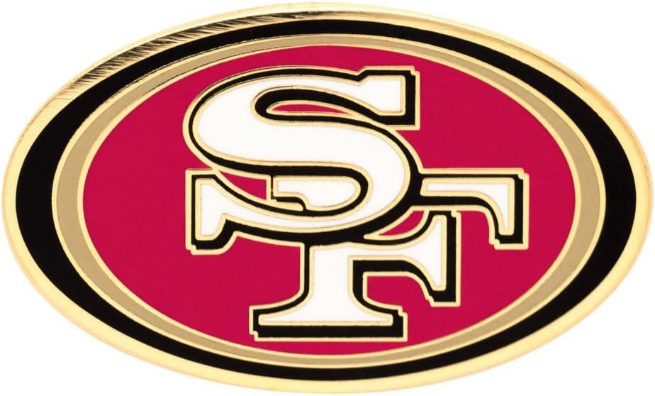 Amazon Com Nfl San Francisco 49ers Unisex San Francisco 49ers Lapel Pin Primary Logosan Francisco 49ers Lapel Pin Primary Logo Red Small Football Apparel Sports Outdoors