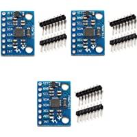 HiLetgo 3pcs MPU-6050 MPU6050 GY-521 3 Axis Accelerometer