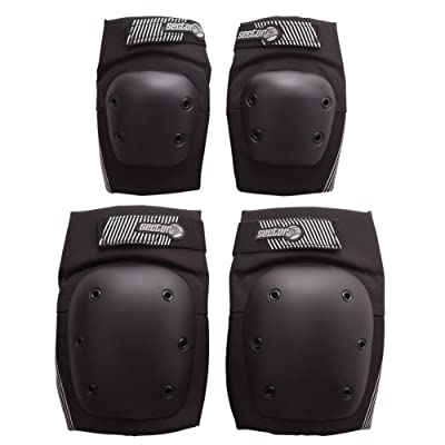 Sector 9 Pursuit Pad Set Protective Gear, Black, Large/X-Large : Sports & Outdoors