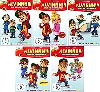 Alvinnn Und Die Chipmunks Die Original Dvd Zur Tv Serie Folge