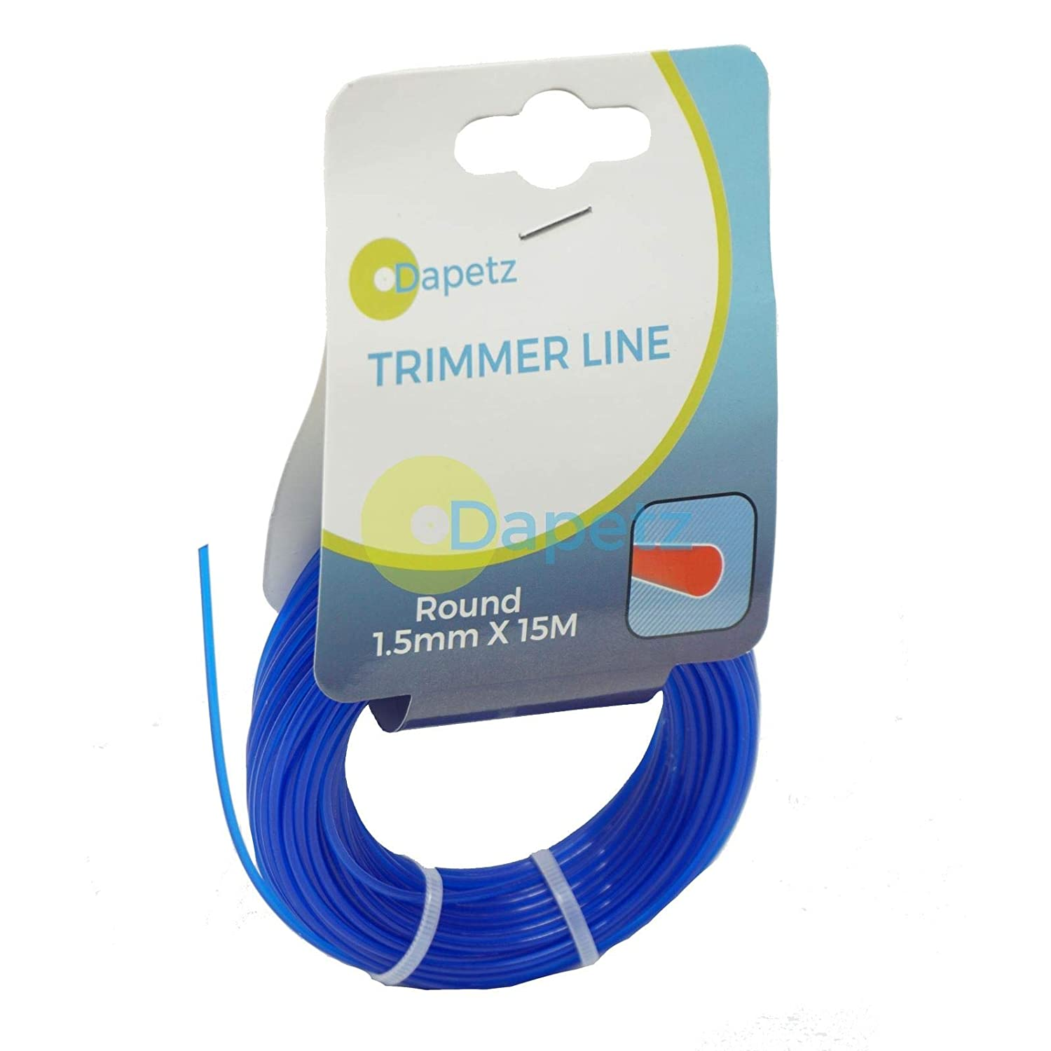 Dapetz 1.5mm x 30m Blue British Trimmer/Strimmer Line Wire Cord Flymo/Bosch