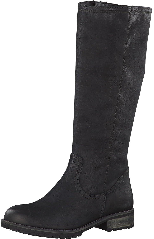 Tamaris Damenschuhe 1-1-26690-29 Damen Stiefel, Stiefel, Damen Stiefeletten, Herbstschuhe & Winterschuhe für modebewusste Frau