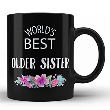 Amazon Worlds Best Older Sister Mug