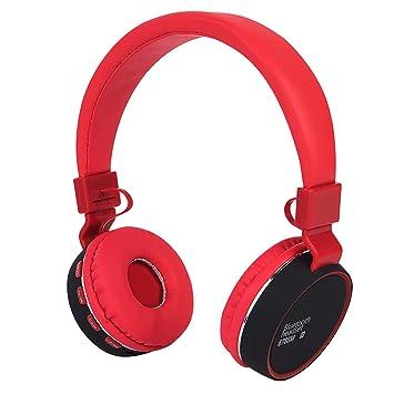 Auriculares inalámbricos para niños Auriculares Bluetooth plegables recargables Con limitación de volumen y puerto de 3
