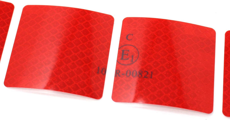 3M Diamond Grade 997S Marquage de Contour segment/é pour b/âche de Camion remorque Film r/éfl/échissant 52 mm Rouge
