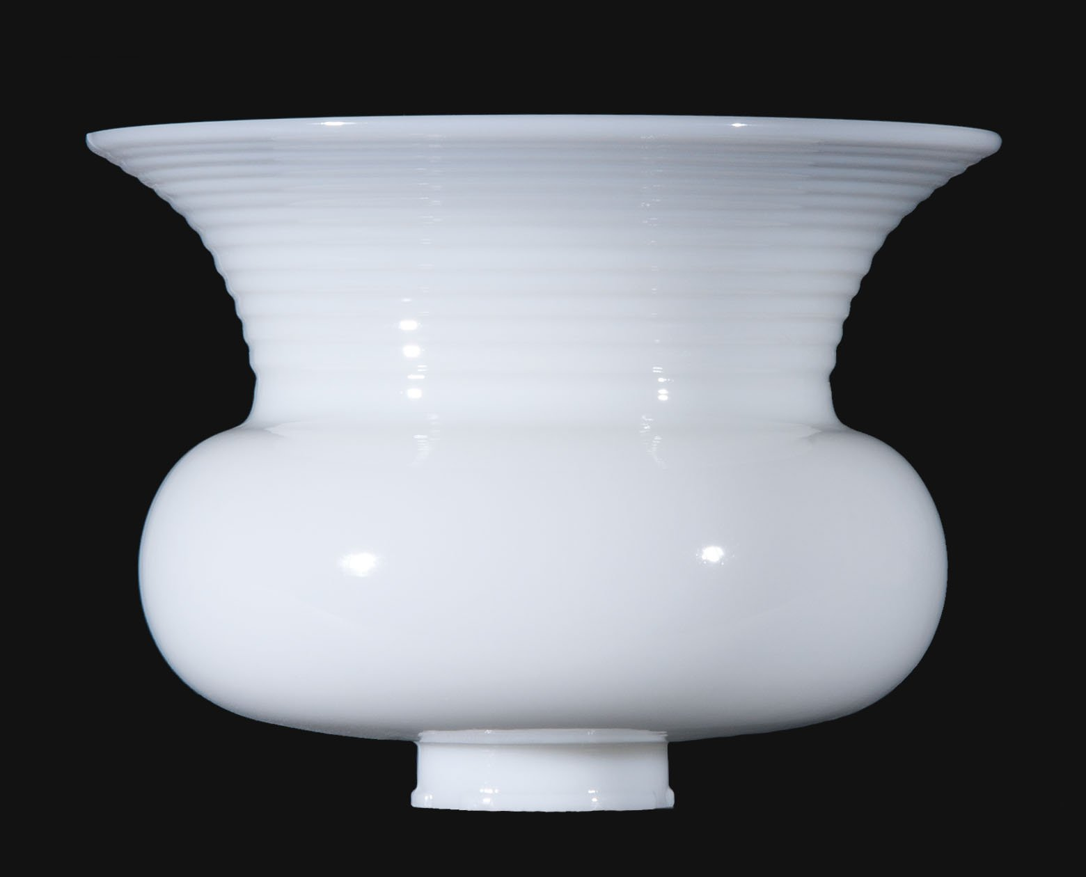 B&P Lamp 10'' Dia., Usa-Made Opal Glass Reflector