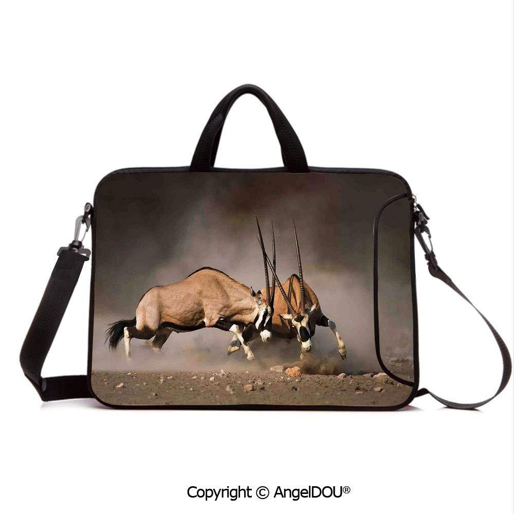5961a21c4c5b Amazon.com: AngelDOU Neoprene Printed Fashion Laptop Bag Fight ...