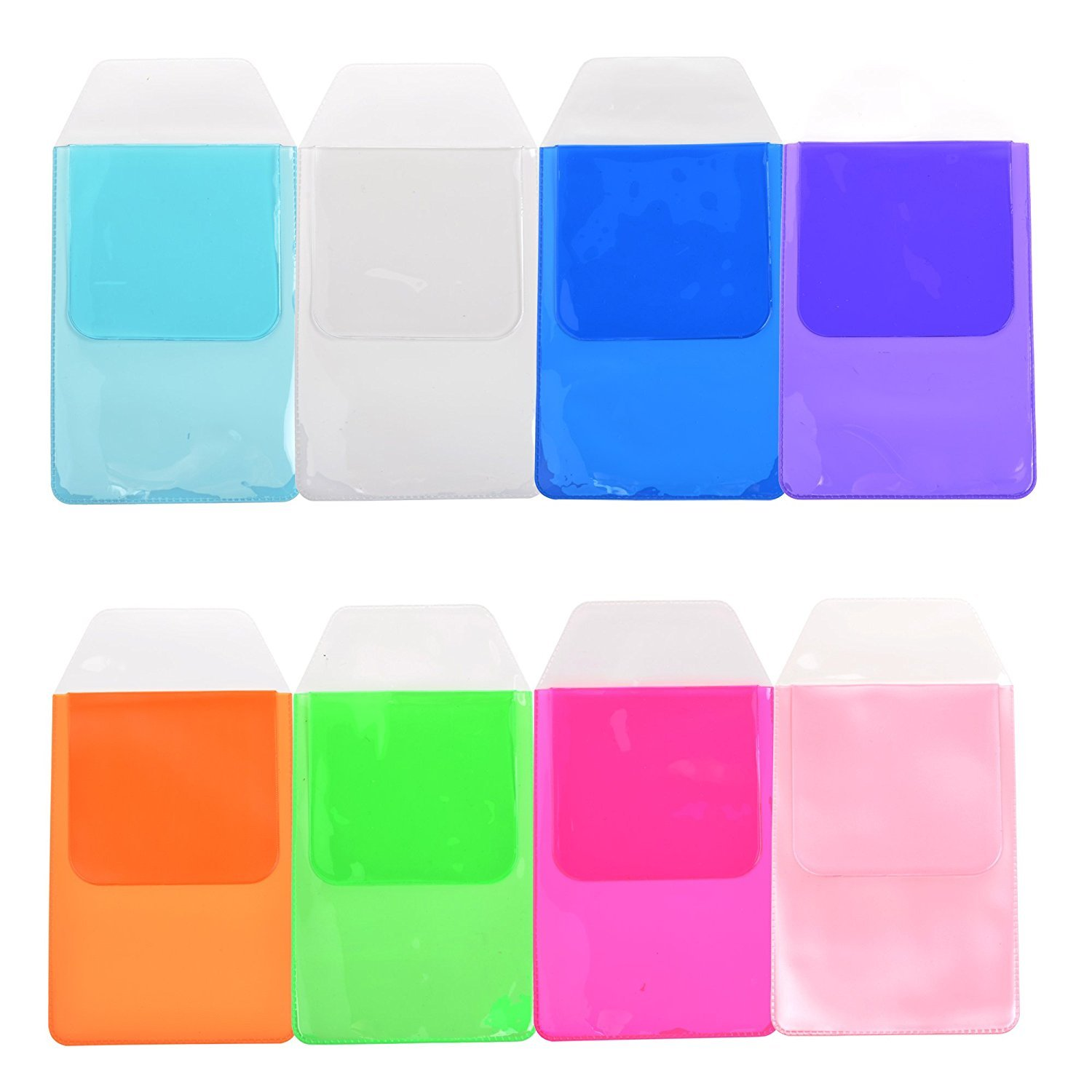 KLOUD City Assorted Colors Pocket Protector for Pen Leaks (8pcs different color)