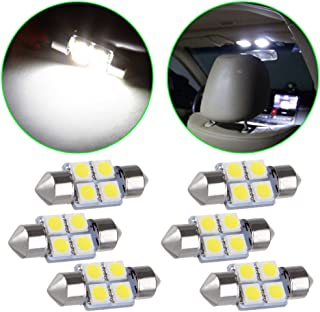 Pairs Dome Lamp Switch for Honda Odyssey Accord Pilot Ridgeline Dodge Ram 1500 Map Light Switch Replace 34404-SDA-A21, 34404-SDA-A22D3, 924-798 (Bonus Light Bulbs) (Only Bulbs)
