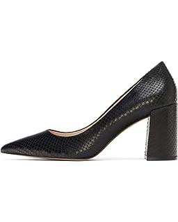 59c9f2c2ba6 Zara Women s Leather Loafers 6925 301 Black  Amazon.co.uk  Shoes   Bags