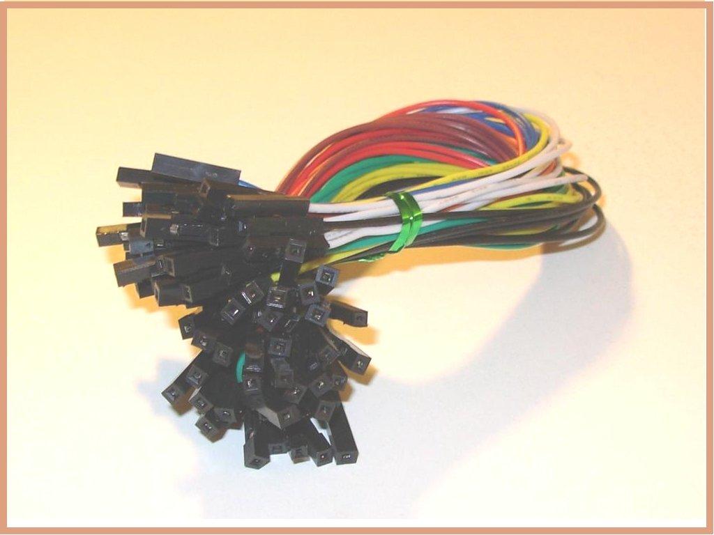 40pcs Female To 254mm 01 In Jumper Wires F 5v Breadboard Power Supply Kit 700 Akafugujp Making Electronics