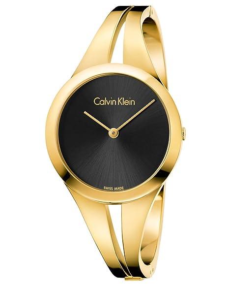 Calvin Klein Reloj Analogico para Mujer de Cuarzo con Correa en Acero Inoxidable K7W2M511
