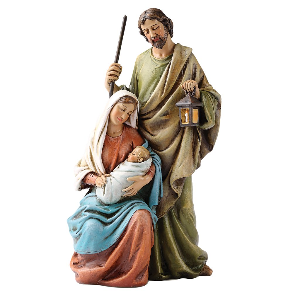 Josephs Studio 6-Inch Holy Family Figurine