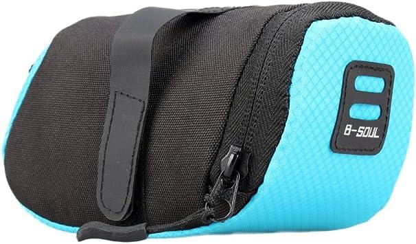 Balight MTB - Bolsa para sillín de bicicleta, azul: Amazon.es ...