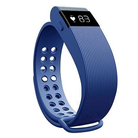 Monitor de ritmo cardiaco, pantalla táctil morefit de actividad Fitness Rastreador Wearable Pulsera inteligente para