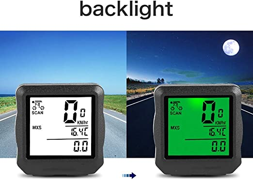 Cuentakilómetros para Bicicleta Cronómetro de bicicletas odómetro ...