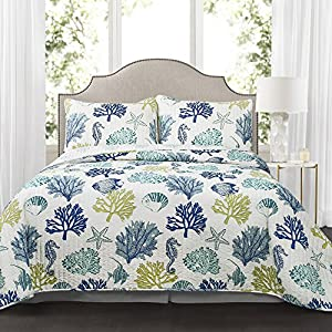 61zHb8De8QL._SS300_ Coastal Bedding Sets & Beach Bedding Sets