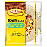 Old El Paso Soft Tacos & Fajitas Shells, 8.2 oz Bag