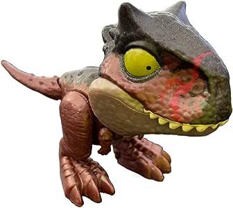 JW Mattel - Jurassic World - Snap Squad Mini Dinosaurios (Carnotaurus Toro): Amazon.es: Juguetes y juegos