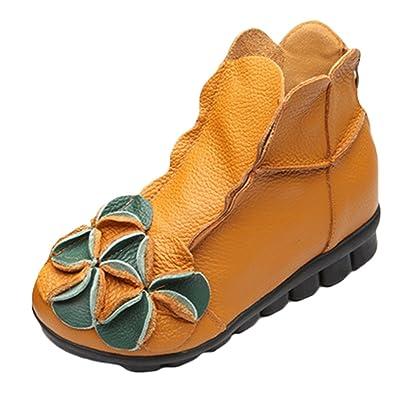 Vogstyle Damen Stiefel Weiches Leder Stiefeletten Kalt Gefüttert Art 1 Kamel EU36/CH37 Ca1hsJQGiU