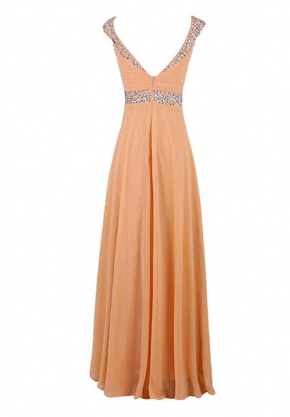 Love Dress Women Long Bridesmaid Dress Prom Party Gown Coral Us 26w by Love To Dress (Image #3)