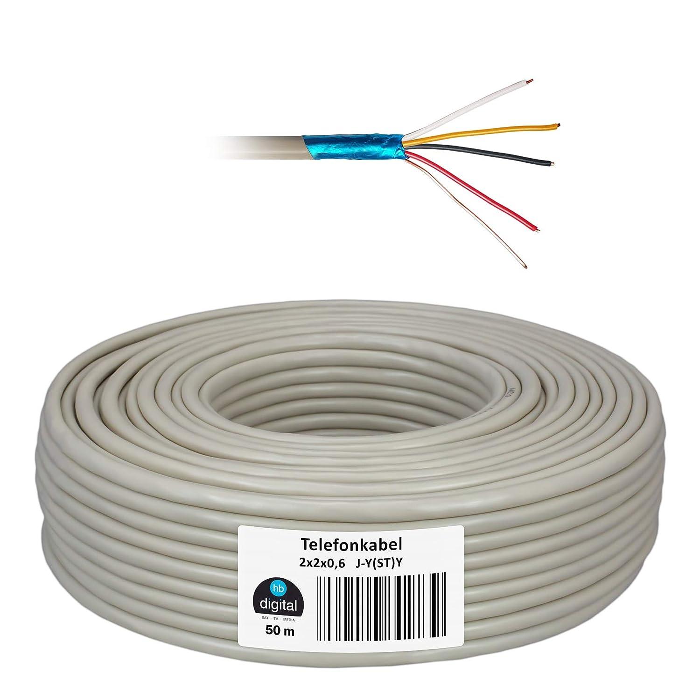Cable de tel/éfono de HB de Digital de J y y cat5sh/ St /JYSTY l/ínea telef/ónica