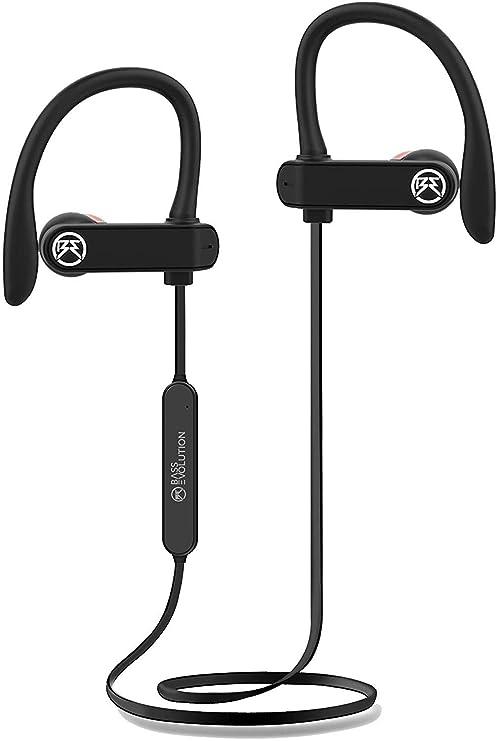 Bass Evolution Pluto Sports Wireless Bluetooth 5.0 Headset with Mic