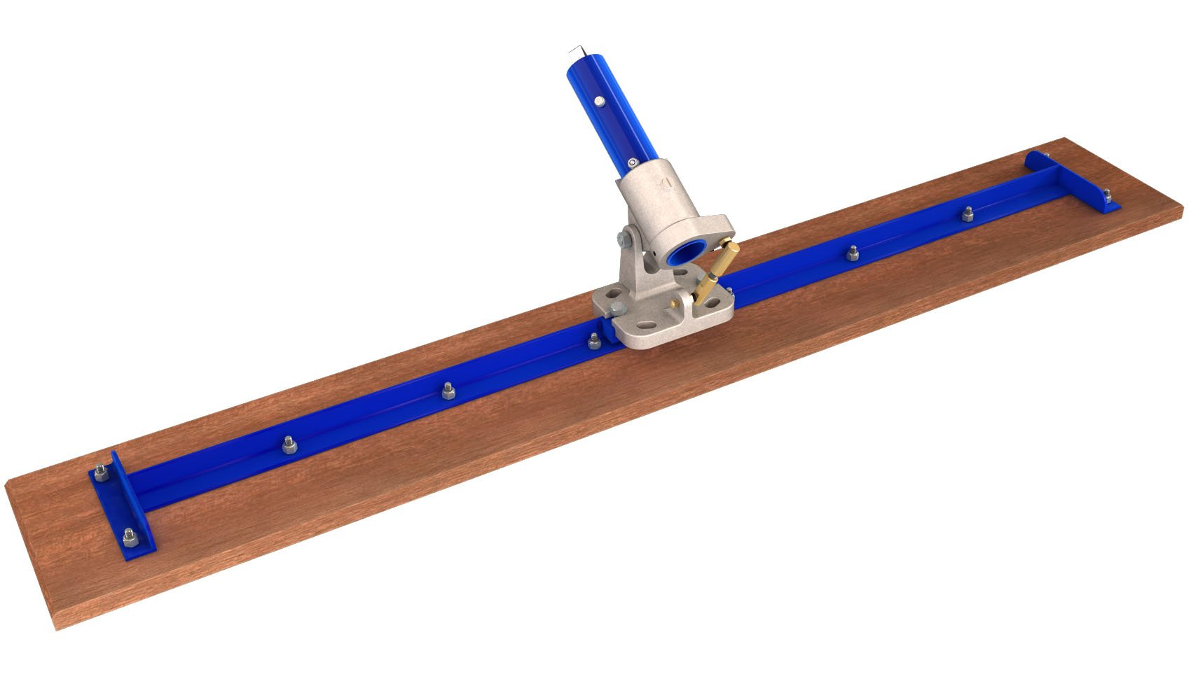 Bon 82-149 48-Inch by 7-1/4-Inch Square End Wood Bull Float with Rock N Roll Bracket by bon