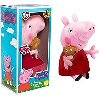 Peppa Pig Pelúcia Média Com Ursinho DTC 4536 Original