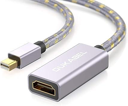 DuKabel Mini DisplayPort a HDMI adaptador Nylon Thunderbolt a HDMI ...