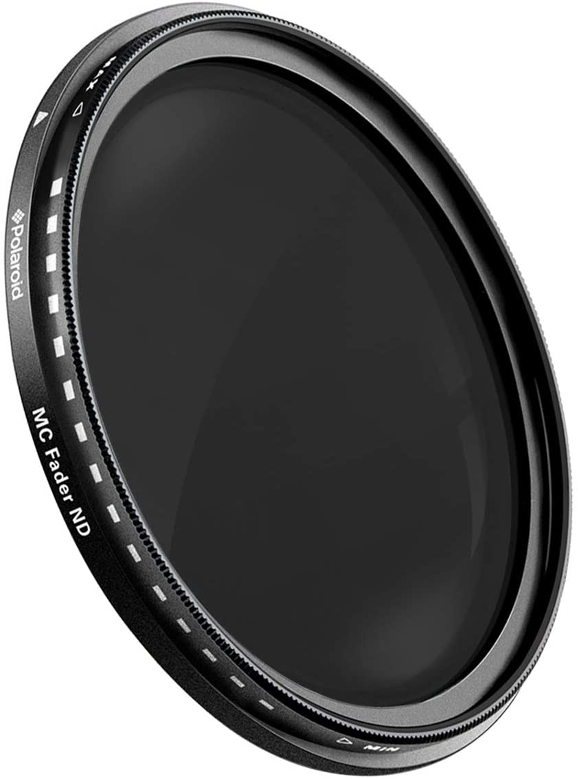Compatible w// All Popular Camera Lens Models ND3, ND6, ND9, ND16, ND32, ND400 Neutral Density Fader Filter ND2-ND2000 Polaroid Optics 77mm Multi-Coated Variable Range