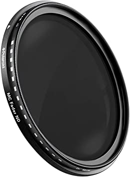 Polaroid Optics 67mm Multi-Coated Neutral Density Fader Filter Compatible w// All 37mm DSLR Cameras Holds Optical Quality Variable Range ND2-ND2000