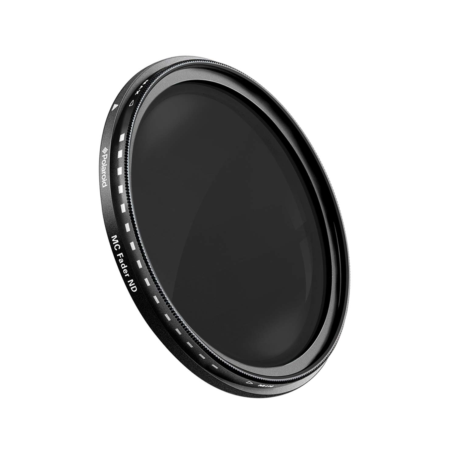 Polaroid Optics 37mm HD Multi-Coated Variable Range ND2-ND2000 Neutral Density (ND) Fader Filter PLFILFDND200037