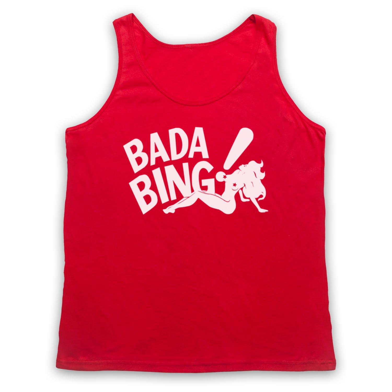 Inspired Apparel Inspired by Sopranos Bada Bing Logo Unofficial Tank Top Vest TTVMIA00063