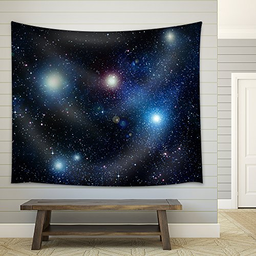 Stars in Space or Night Sky Fabric Wall