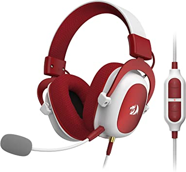 Redragon H510 Zeus Xmas Wired Gaming Headset 7 1 Amazon Co Uk Electronics