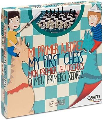 Cayro - Mi Primer ajedrez— Juego de observación y lógica - Juego Mesa Infantil - Desarrollo de Habilidades cognitivas e inteligencias múltiples - Juego Tradicional (169): Amazon.es: Juguetes y juegos