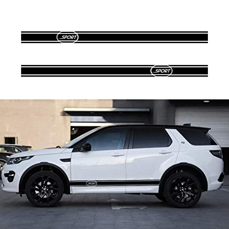 LAND ROVER DISCOVERY 2x side stripes body decal vinyl graphics sticker logo