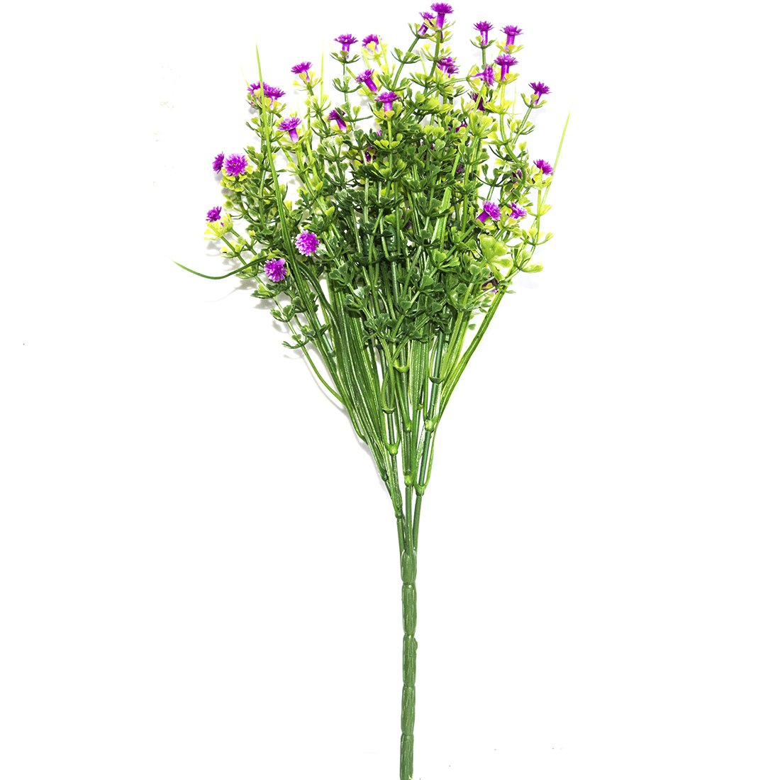1 Branch Small Artificial Plants Grass Fake Floral Plastic Silk Eucalyptus Flowers For Table Decor ASTrade LEPAZIK3456